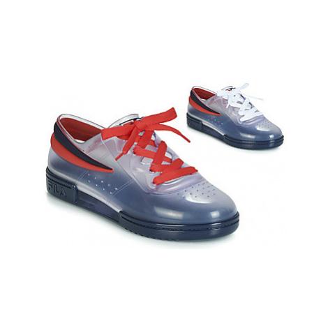 Melissa SNEAKER + FILA women's Shoes (Trainers) in Blue