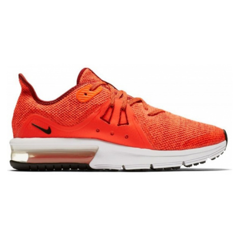 Nike AIR MAX SEQUENT 3 GS red - Boys' running shoes