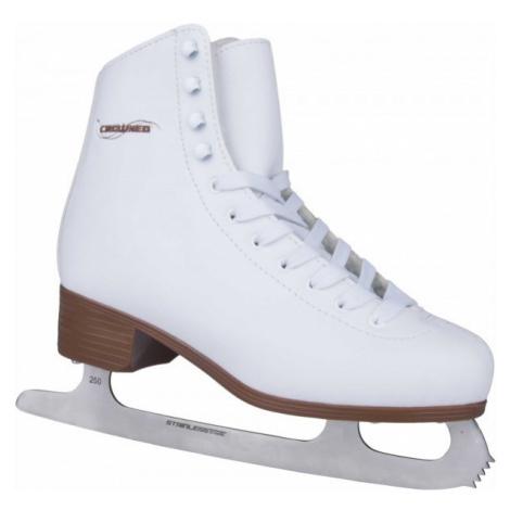 Crowned LUXURY white - Women's ice skates