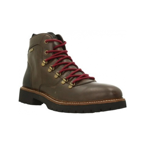 Geox U KIEVEN B ABX men's Mid Boots in Brown