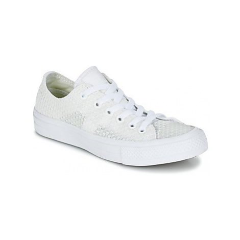 Converse CHUCK TAYLOR ALL STAR II FESTIVAL TPU KNIT OX women's Shoes (Trainers) in White