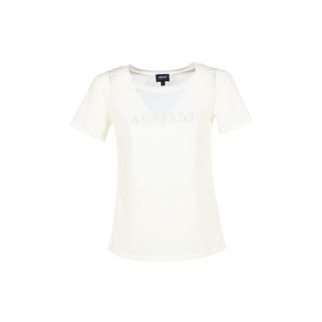Armani jeans KAJOLA women's T shirt in White