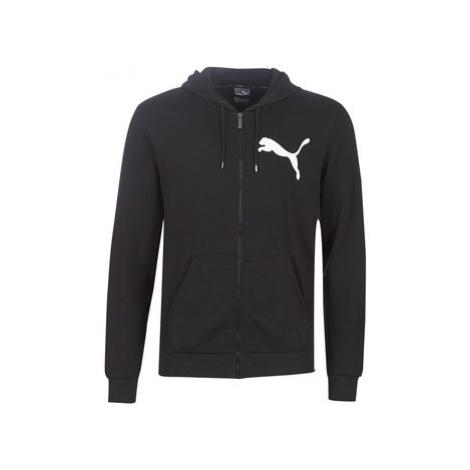 Puma FD OVRSIZ LOGO FZ HDY.BK men's Tracksuit jacket in Black