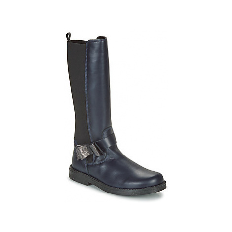 Citrouille et Compagnie LAIME girls's Children's High Boots in Blue