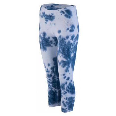Russell Athletic PRINTED SCRIPT CAPRI PANT white - Women's leggings