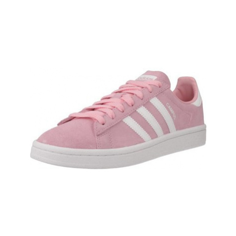 Adidas ADIDAS CAMPUS women's Shoes (Trainers) in Pink