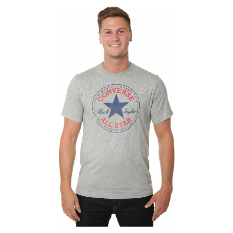 T-Shirt Converse Chuck Patch/10007887 - A03/Vintage Gray Heather - men´s