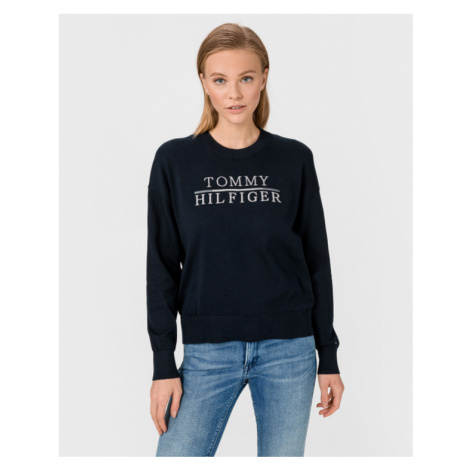 Tommy Hilfiger Graphic Sweater Blue
