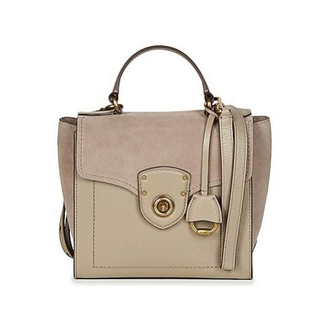 Lauren Ralph Lauren MILBROOK SATCHEL SMALL women's Handbags in Grey