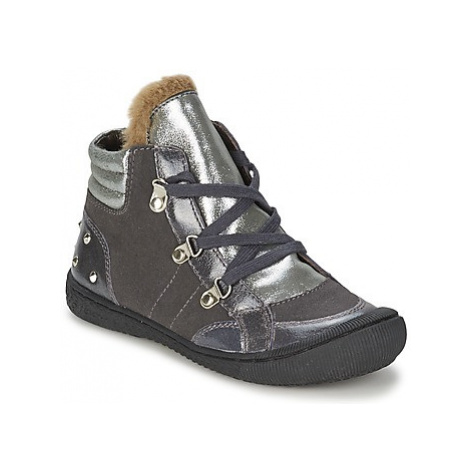 Mod'8 SOCLOU girls's Children's Mid Boots in Grey