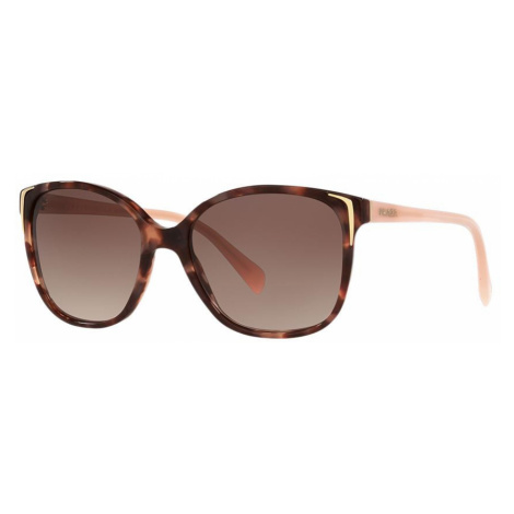 Prada Woman PR 01OS - Frame color: Pink, Lens color: Brown, Size 55-17/140