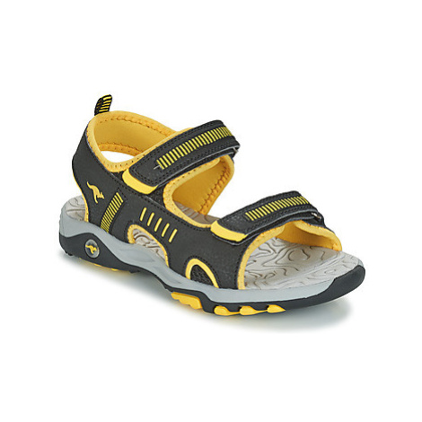 Kangaroos K-LOGAN girls's Children's Sandals in Black