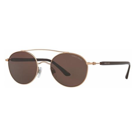 Giorgio Armani Man AR6038 - Frame color: Bronze-Copper, Lens color: Brown, Size 50-19/145