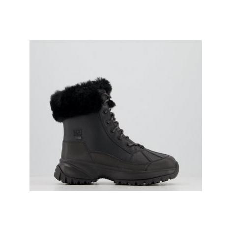 UGG Yose Fluff Boots BLACK