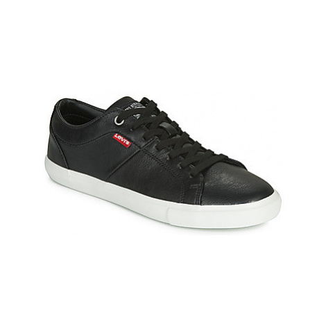 Levis WOODS W women's Shoes (Trainers) in Black Levi´s