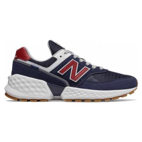 New Balance MS574ASN dark blue - Men's leisure shoes