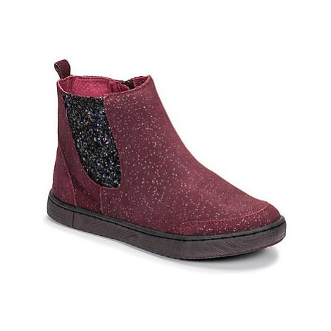 Mod'8 BLABIS girls's Children's Mid Boots in Red