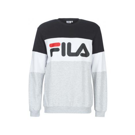 Fila STRAIGHT BLOCKED CREW men's Sweatshirt in Grey