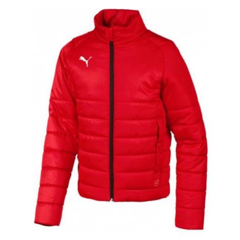 Puma LIGA CASUALS PADDED JKT JR red - Kids' jacket