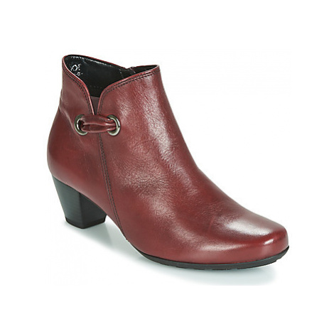 Gabor 3282758 women's Low Ankle Boots in Red
