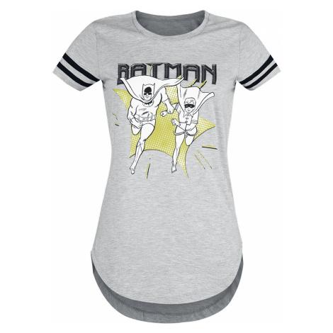 Batman Batman And Robin - Run T-Shirt mottled grey