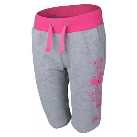 Lewro MERIEL gray - Girls' 3/4 length sweatpants