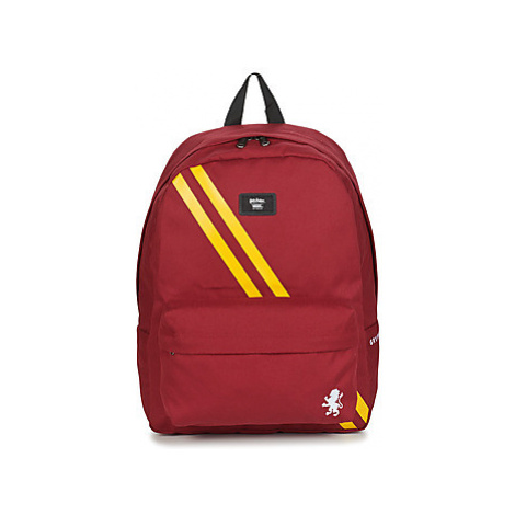 Vans OLD SKOOL III BACKPACK GRYFFINDOR men's Backpack in Red