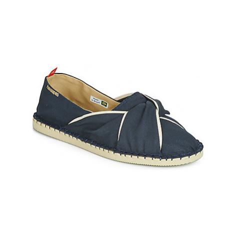 Havaianas ORIGINE TWIST women's Espadrilles / Casual Shoes in Blue