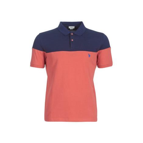 U.S Polo Assn. BLOCK COLOR POLO men's Polo shirt in Blue U.S. Polo Assn