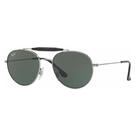 Ray-Ban Rj9542s Unisex Sunglasses Lenses: Green, Frame: Gunmetal - RJ9542S 200/71 50-17