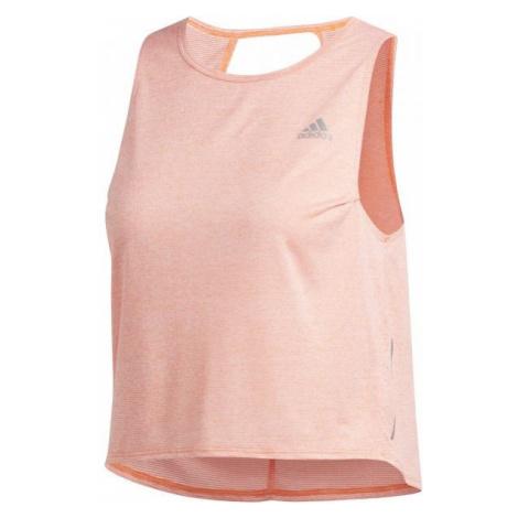 adidas OTR TANK COOLER orange - Women's tank top