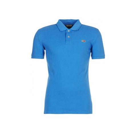 Napapijri TALY men's Polo shirt in Blue