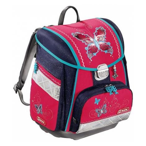 schoolbag Hama - Step By Step 129071/Motýl - Pink