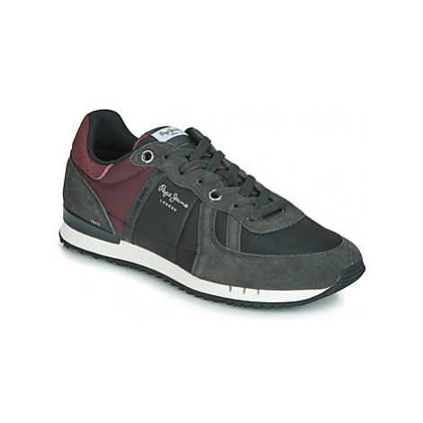 Pepe jeans TINKER ZERO HALF 19 men's Shoes (Trainers) in Grey