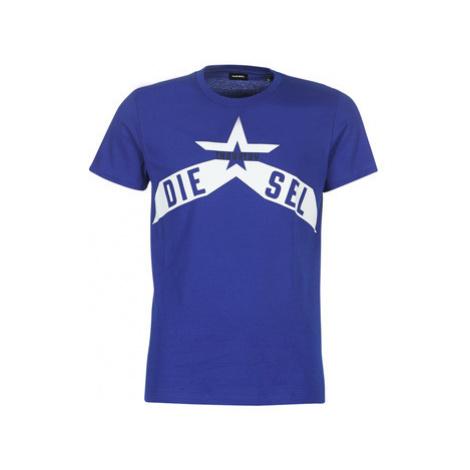 Diesel T DIEGO A7 men's T shirt in Blue