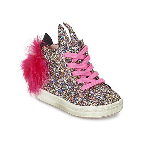 Acebo's MARJOLIE girls's Children's Shoes (High-top Trainers) in Multicolour