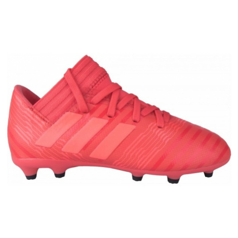adidas NEMEZIZ 17.3 FG J red - Boys' football shoes