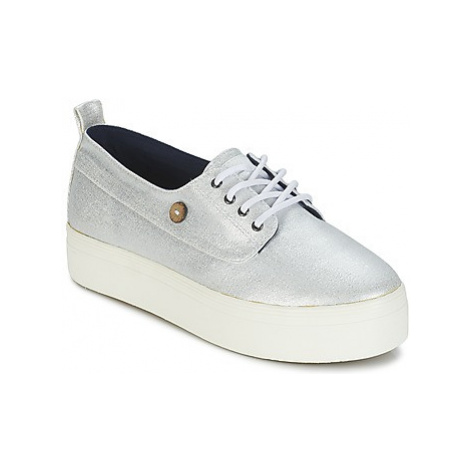 Faguo FIGLONE women's Shoes (Trainers) in Silver