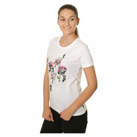 T-Shirt Converse Wordmark Floral Crew/10009025 - A01/White - women´s