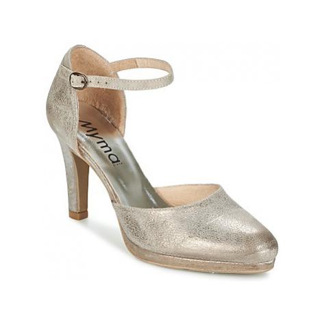 Myma LUBBO women's Sandals in Silver