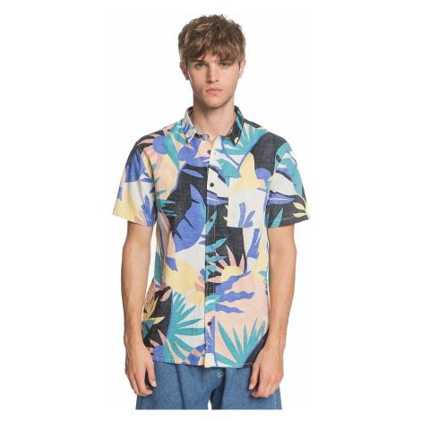 shirt Quiksilver Tropical Flow - WBK6/Snow White Tropical Flo - men´s