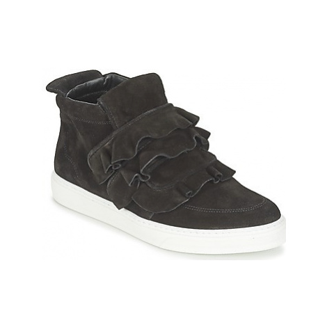 Sonia Rykiel CARMINO women's Shoes (High-top Trainers) in Black