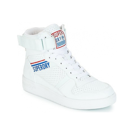 Superdry URBAN HIGH TOP women's Shoes (High-top Trainers) in White