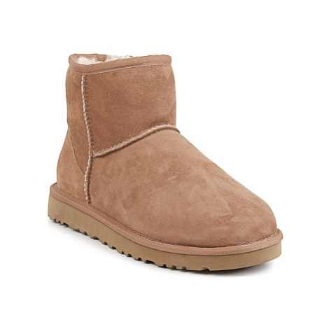 UGG CLASSIC MINI women's Mid Boots in Brown