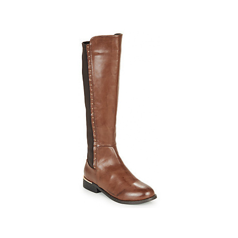 Xti MARCIA women's High Boots in Brown