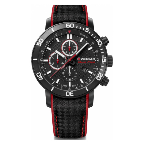 Wenger Watch Roadster Black Night Chrono