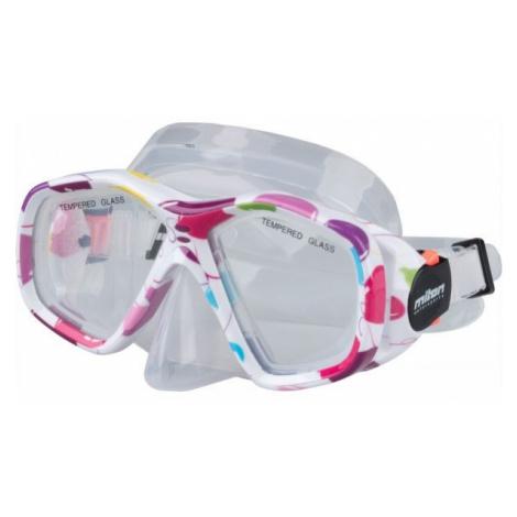 Miton BALI white - Children's diving mask