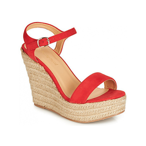 Moony Mood IPALA women's Sandals in Red