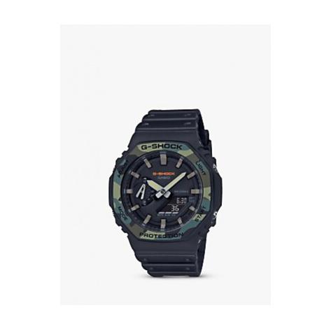 Casio GA-2100SU-1AER Unisex G-Shock Resin Strap Watch, Black