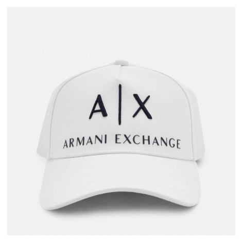 Armani Exchange Men's Corp Logo Cap - Black